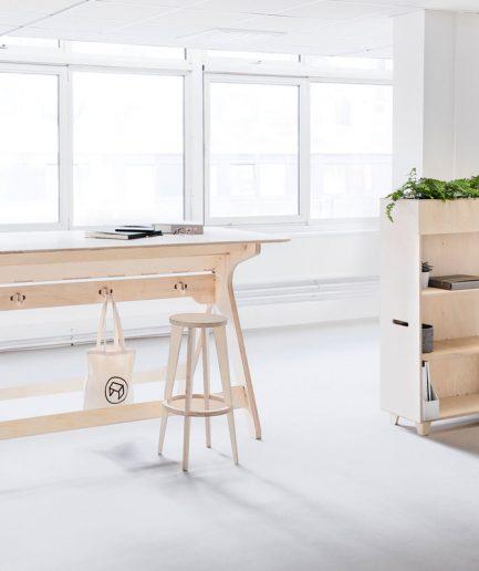 Mobilier professionnel pour les nouveaux espaces de travail