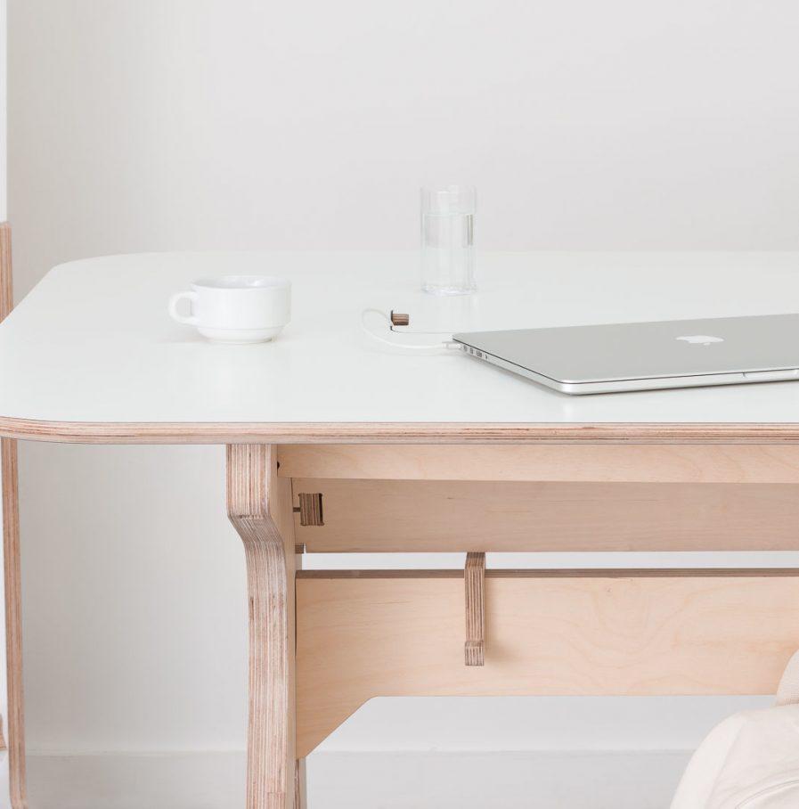 Table haute de réunion pour gagner en productivité