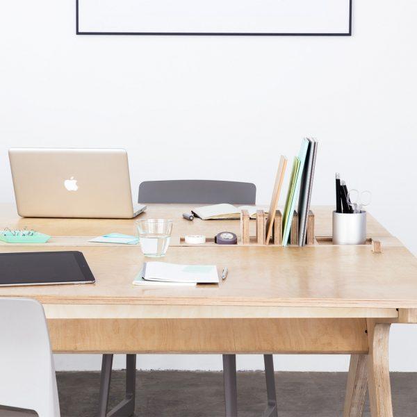 Lean Desk meuble de bureau partagé pour entreprises agiles
