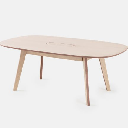 Table de réunion ovale design