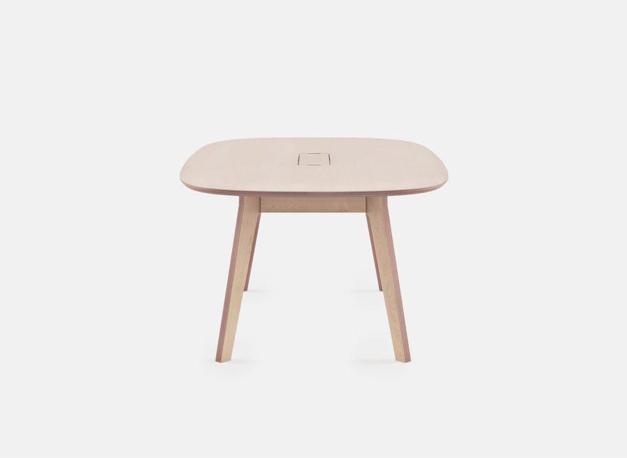 Table de réunion ovale