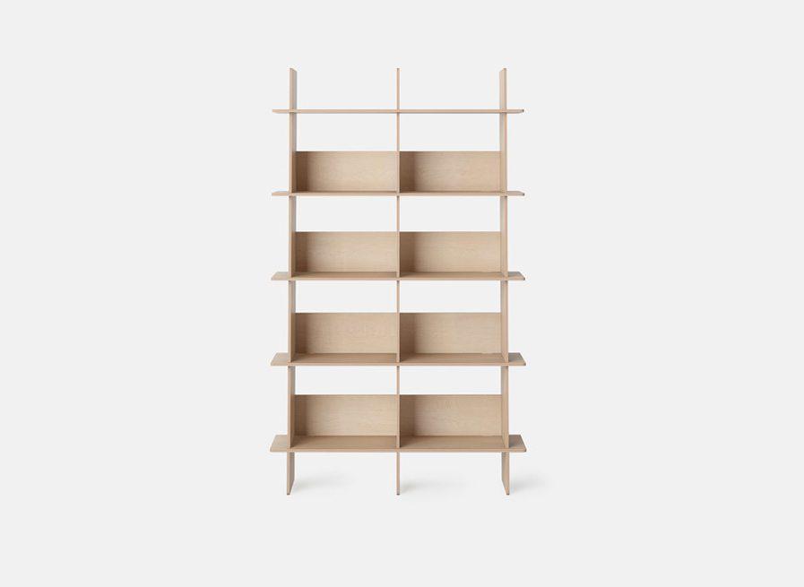 Bibliotheque design en bois