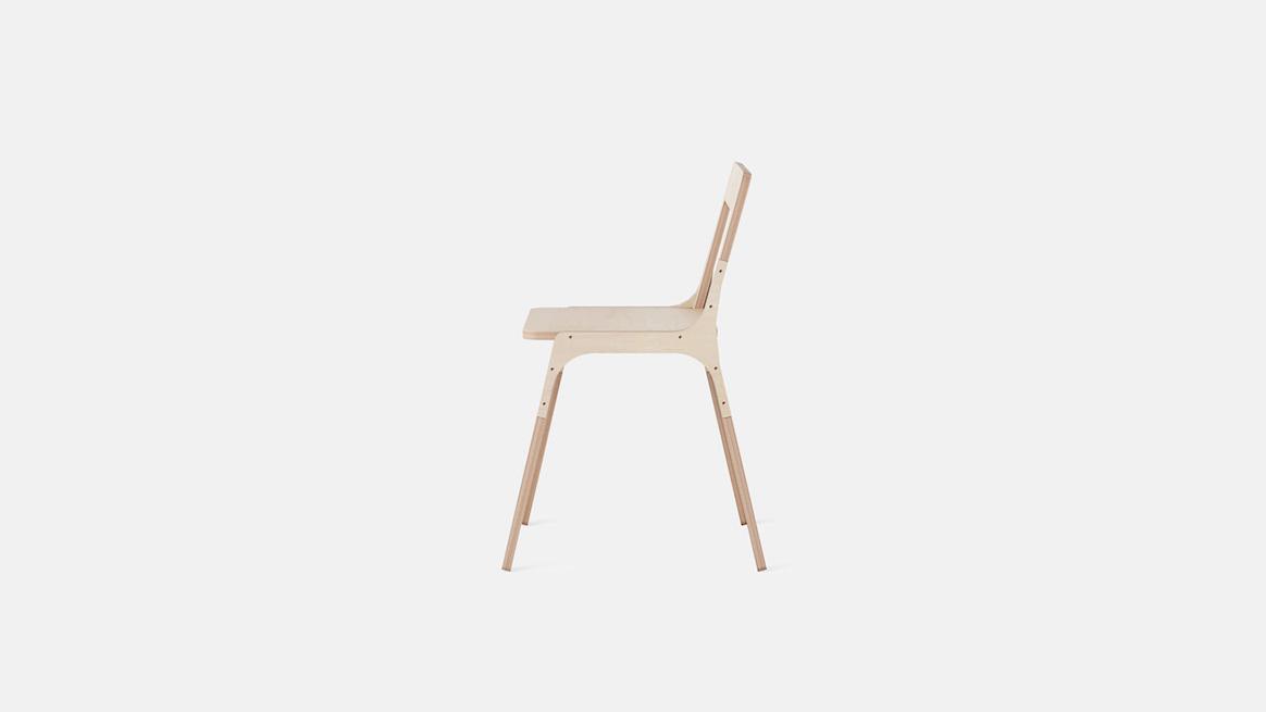 Design Bois Openwood Chaise Bureau Slim Légère En Opendesk Chair ⋆ CoxerWQdB