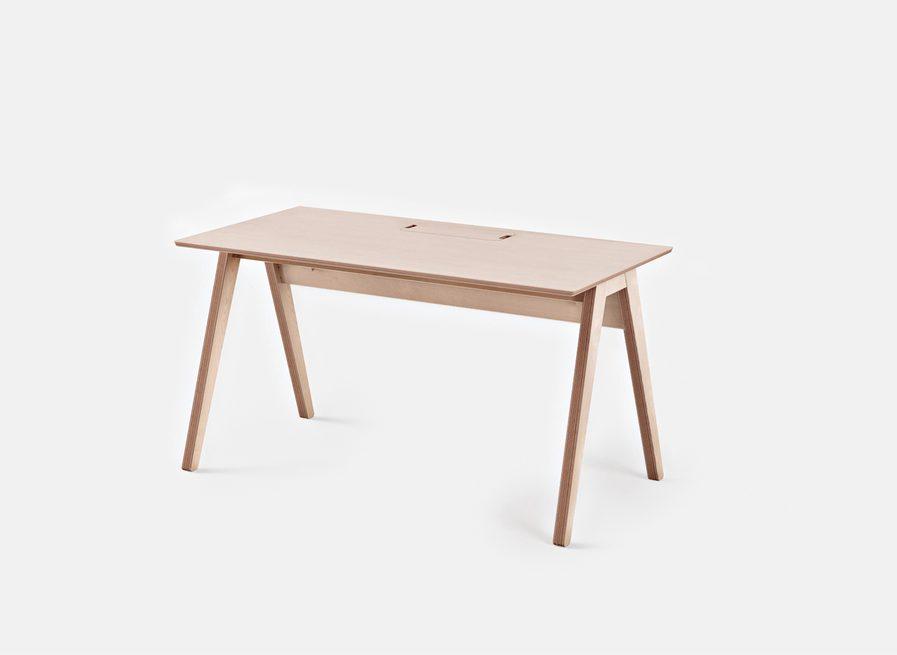 Bureau individuel design parfait pour les travailleurs à domicile