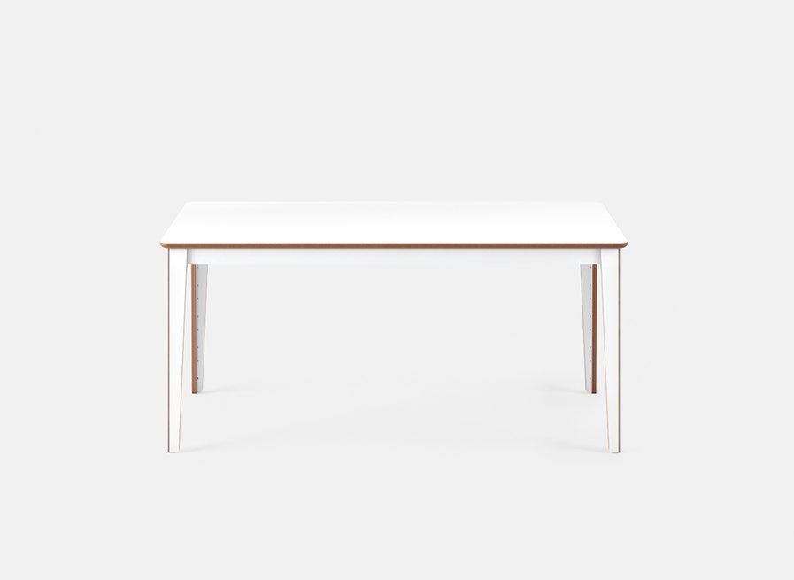 Table de reunion design mudulable fonction blanche