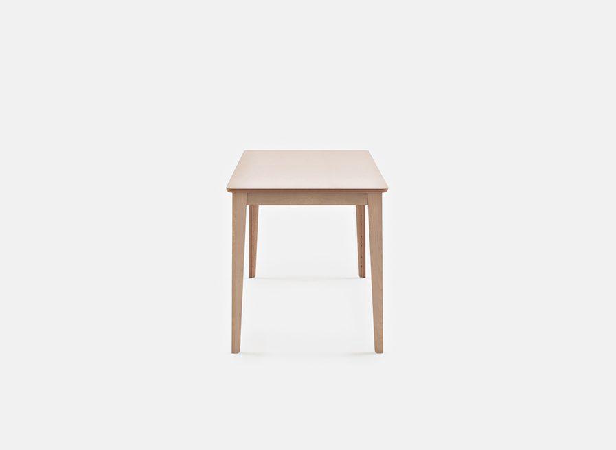 Table de réunion modulable en bois