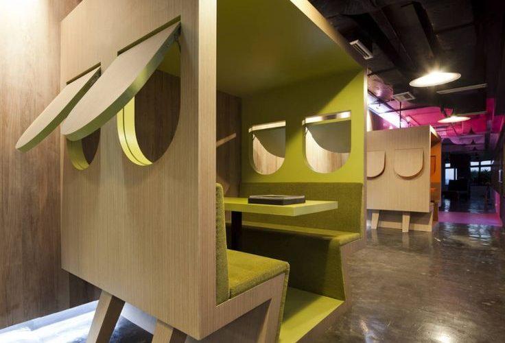La cabane, un espaces de concentration pour s'isoler tout en restant au cœur de l'espace de travail