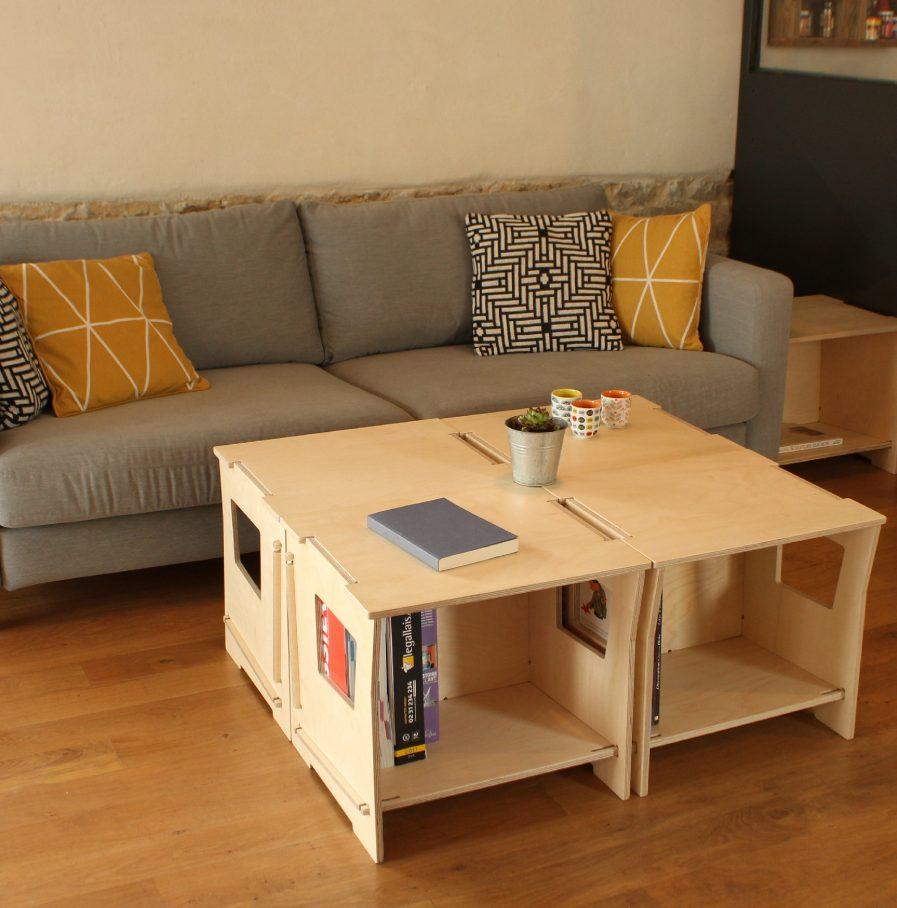 Modules de rangement en bois design