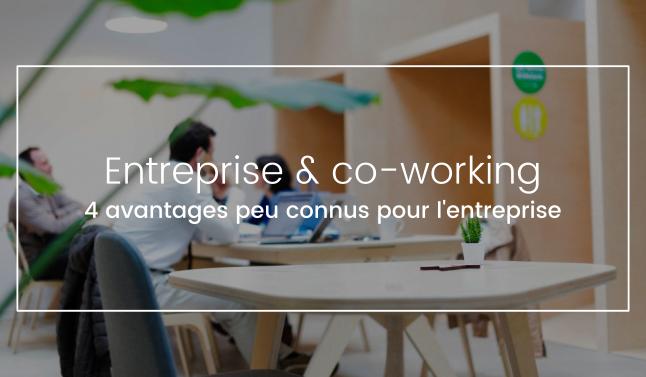 espaces de coworking pour votre entreprise