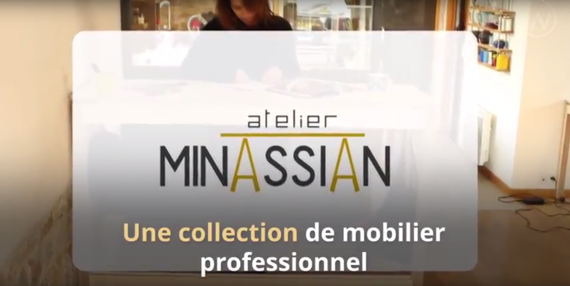 Meubles de bureau de l'Atelier Minassian