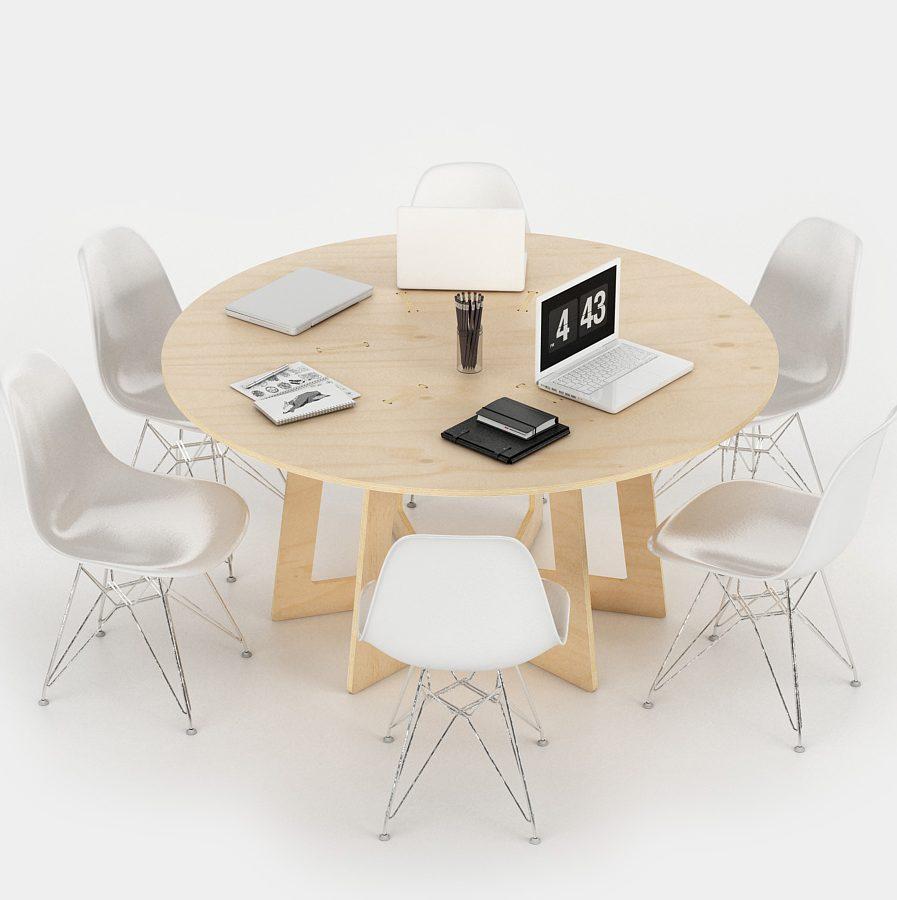 table ronde de réunion informelle