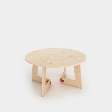 table basse ronde circle karya