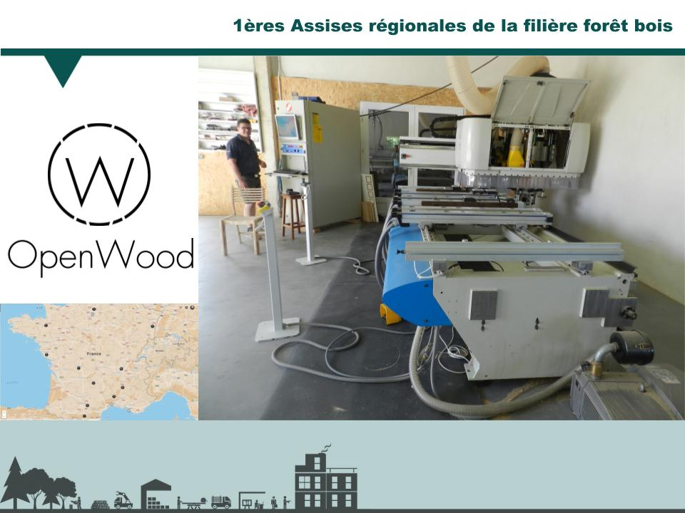 OpenWood Assises FIliere Bois