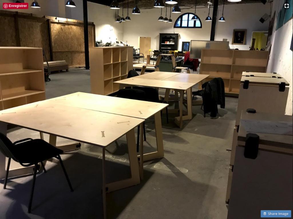 Postes de travail espace de coworking à Montpellier