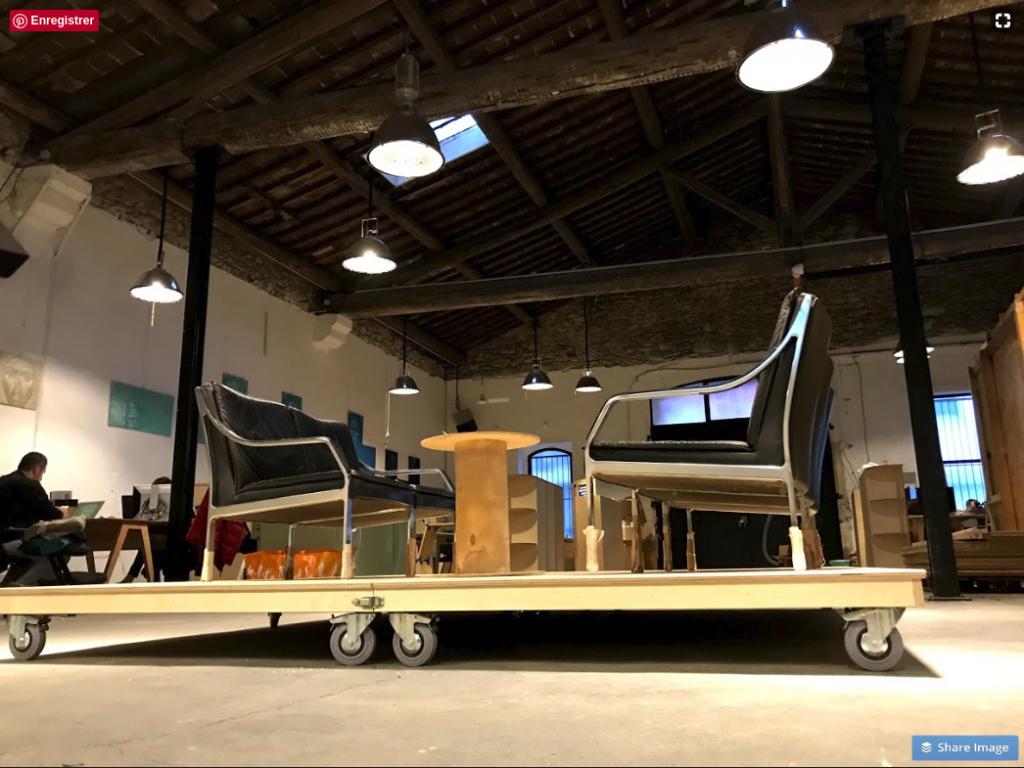 Estrade DoTank aménagement espace de coworking à Montpellier