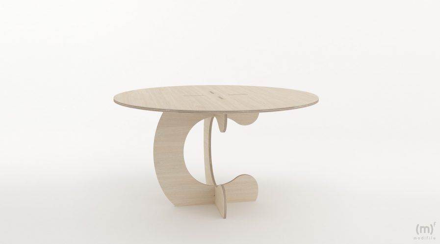 Table ronde une personne