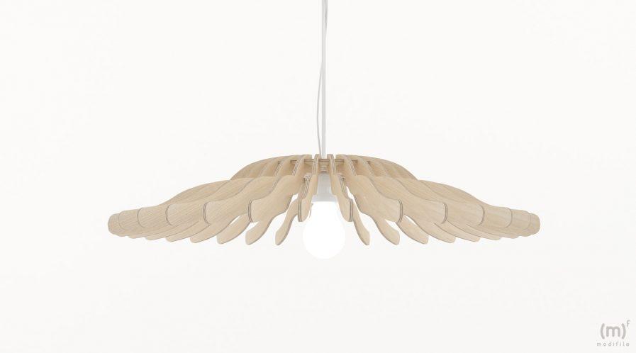 Lampe en bois design