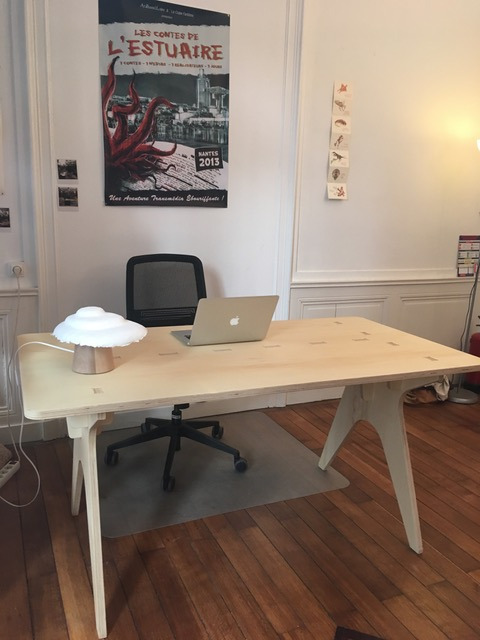 mobilier professionnel responsable Bureau openwood 100% made in France