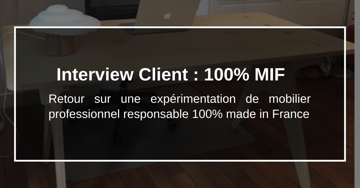mobilier professionnel responsable made in France
