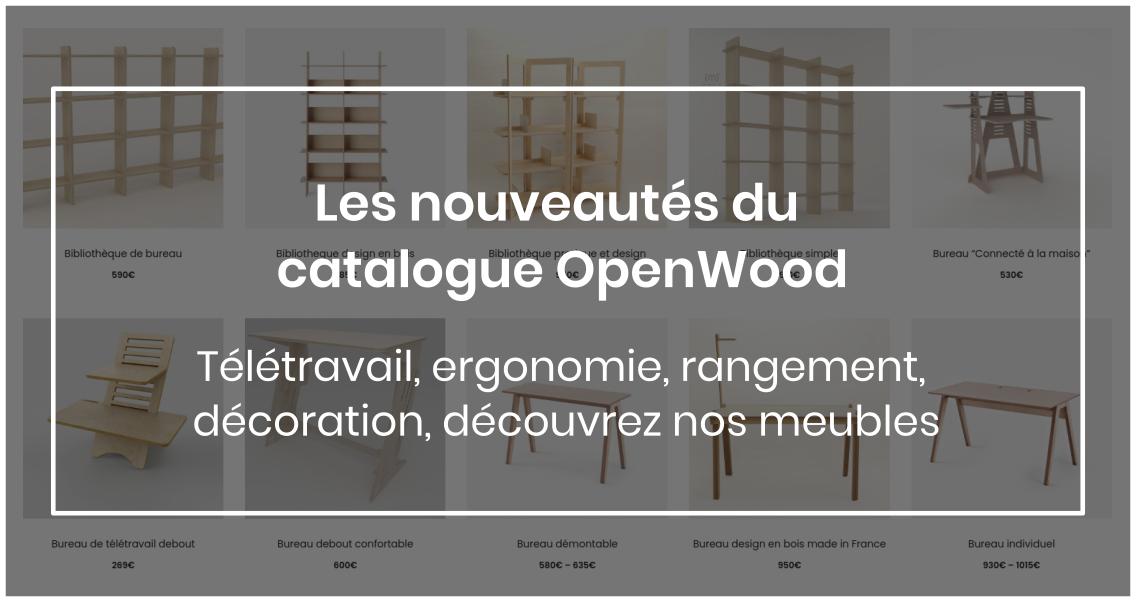 catalogue de mobilier fabriqué localement